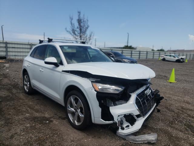 Audi salvage cars for sale: 2021 Audi Q5 Premium