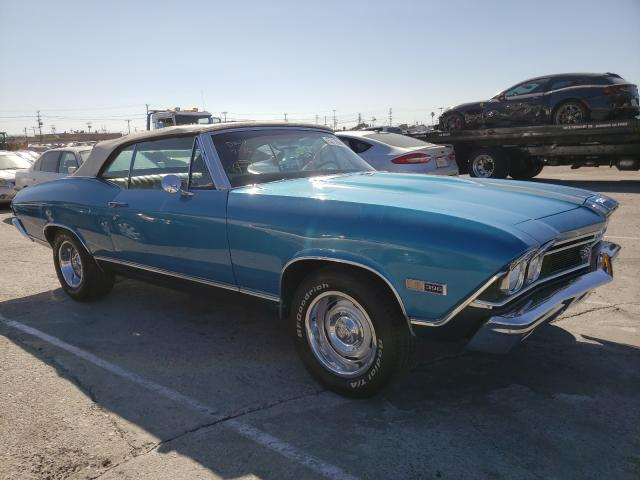 Chevrolet Chevelle salvage cars for sale: 1968 Chevrolet Chevelle
