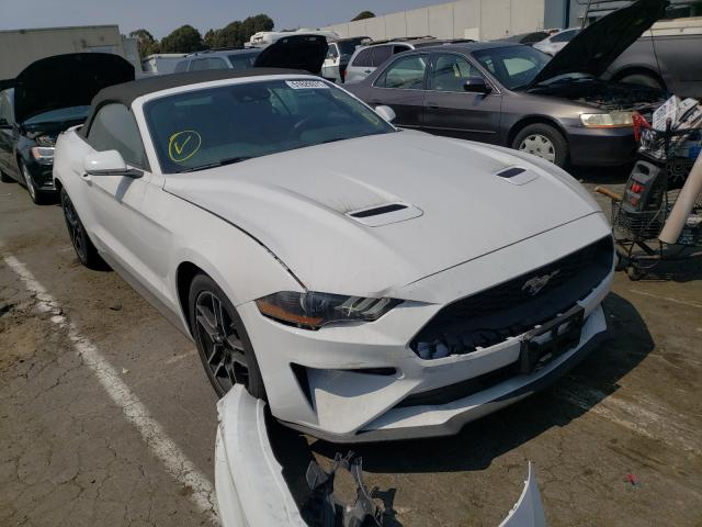 Salvage cars for sale from Copart Hayward, CA: 2021 Ford Mustang