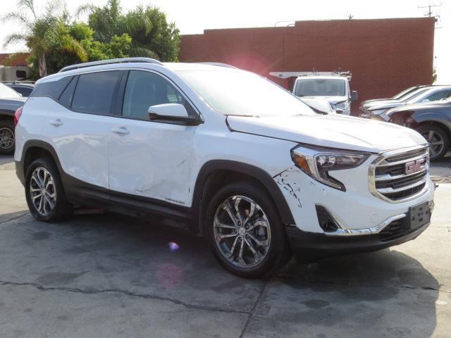 Salvage cars for sale from Copart Colton, CA: 2021 GMC Terrain SL