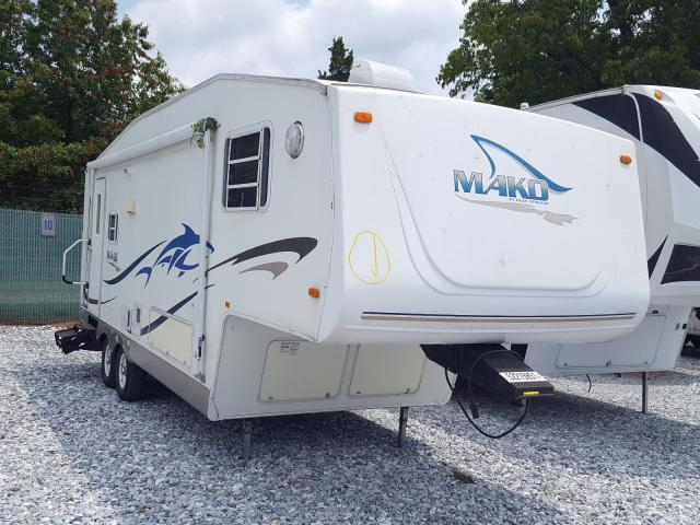 Salvage cars for sale from Copart York Haven, PA: 2003 Mako RV