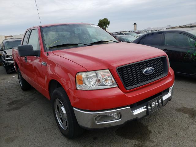 Salvage cars for sale from Copart Martinez, CA: 2005 Ford F150