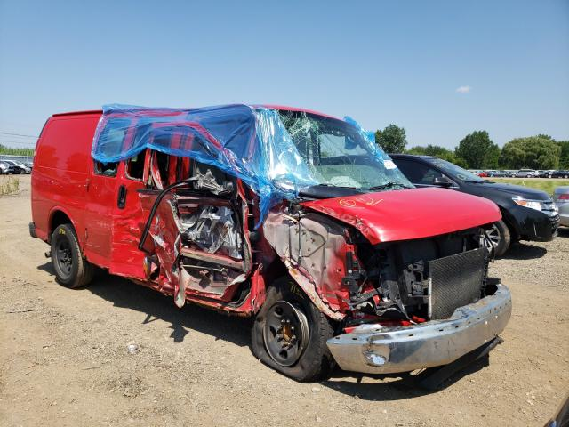 Salvage cars for sale from Copart Columbia Station, OH: 2006 Chevrolet Express G2