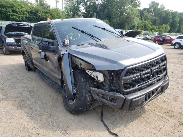 Vehiculos salvage en venta de Copart Davison, MI: 2017 Ford F150 Rapto