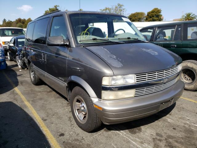 Chevrolet Astro salvage cars for sale: 2001 Chevrolet Astro