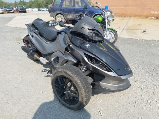 Salvage cars for sale from Copart North Billerica, MA: 2011 Can-Am Spyder ROA
