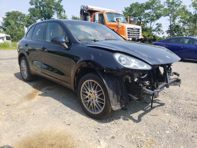 Salvage cars for sale from Copart Marlboro, NY: 2018 Porsche Cayenne