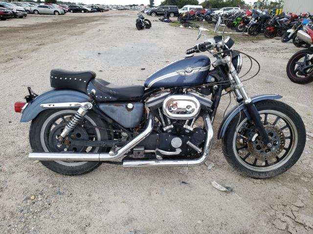 Salvage cars for sale from Copart Riverview, FL: 2002 Harley-Davidson XLH883 R