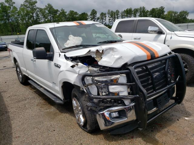 Salvage trucks for sale at Harleyville, SC auction: 2016 Ford F150 Super