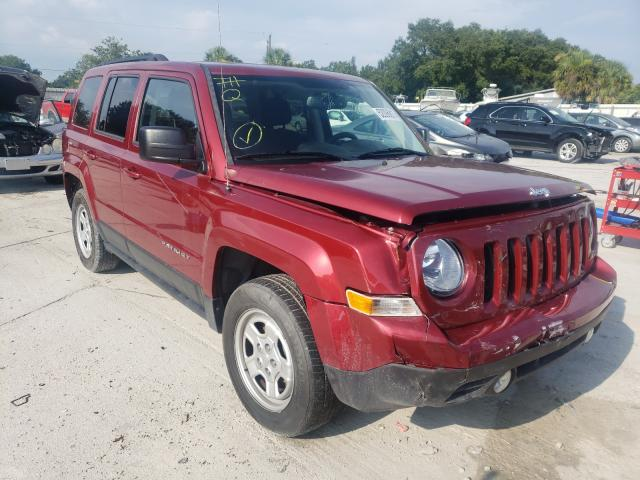 Salvage cars for sale from Copart Punta Gorda, FL: 2017 Jeep Patriot SP