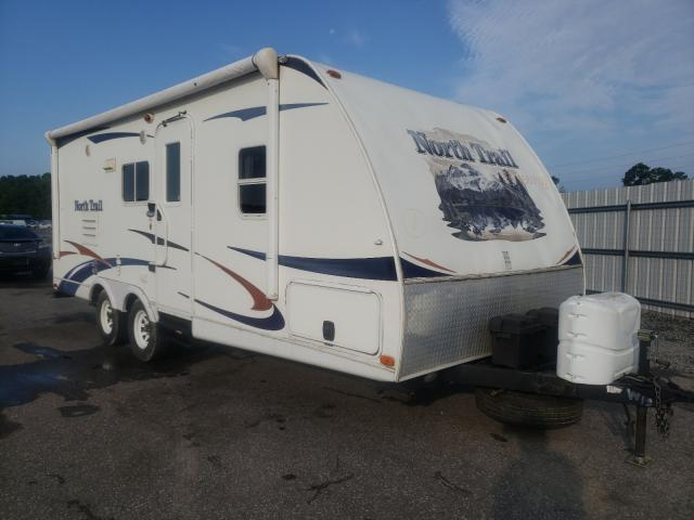 Salvage cars for sale from Copart Dunn, NC: 2011 Heartland North Trai