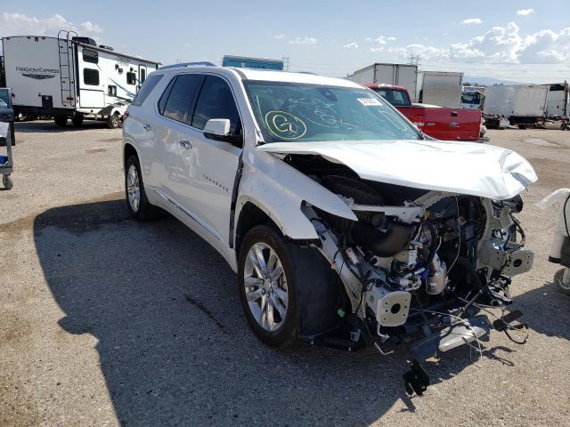 Salvage cars for sale at Tucson, AZ auction: 2020 Chevrolet Traverse H