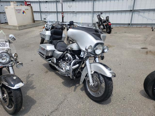 Upcoming salvage motorcycles for sale at auction: 2003 Harley-Davidson Flhtci ANN