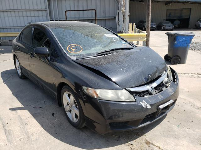 Salvage cars for sale from Copart Corpus Christi, TX: 2009 Honda Civic LX-S
