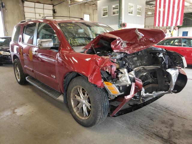 Nissan Armada salvage cars for sale: 2007 Nissan Armada