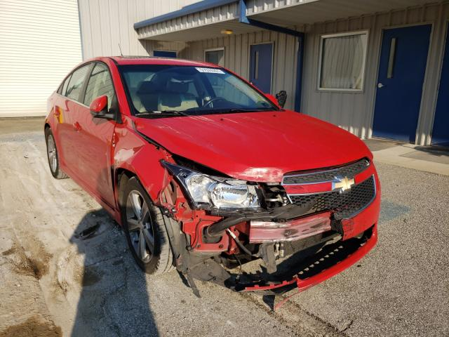 Salvage cars for sale from Copart Hurricane, WV: 2012 Chevrolet Cruze LT