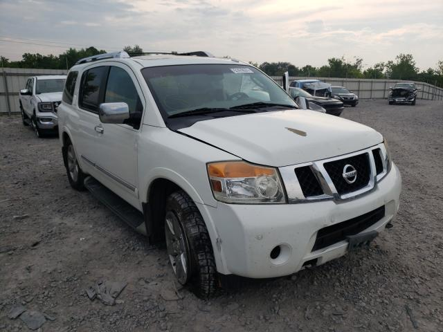 Nissan Armada salvage cars for sale: 2012 Nissan Armada