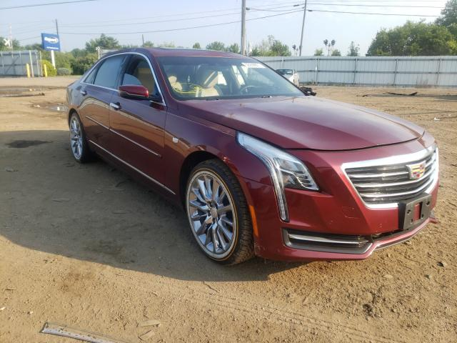 Cadillac CT6 salvage cars for sale: 2017 Cadillac CT6