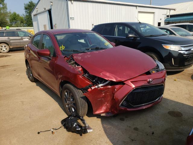 Toyota salvage cars for sale: 2019 Toyota Yaris L