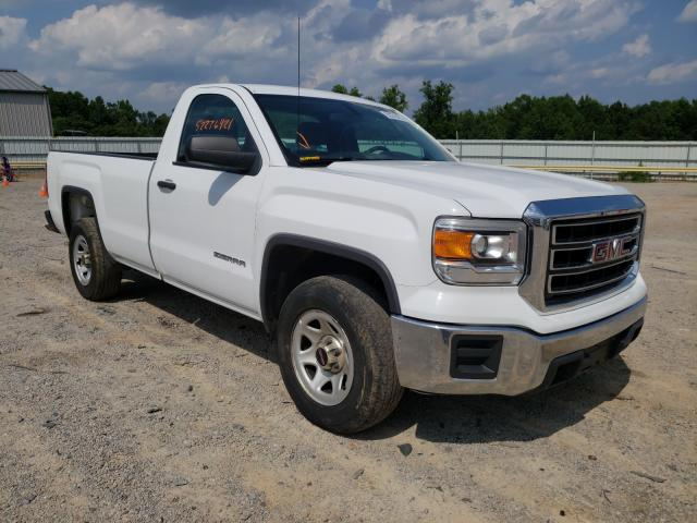 Salvage cars for sale from Copart Chatham, VA: 2015 GMC Sierra C15