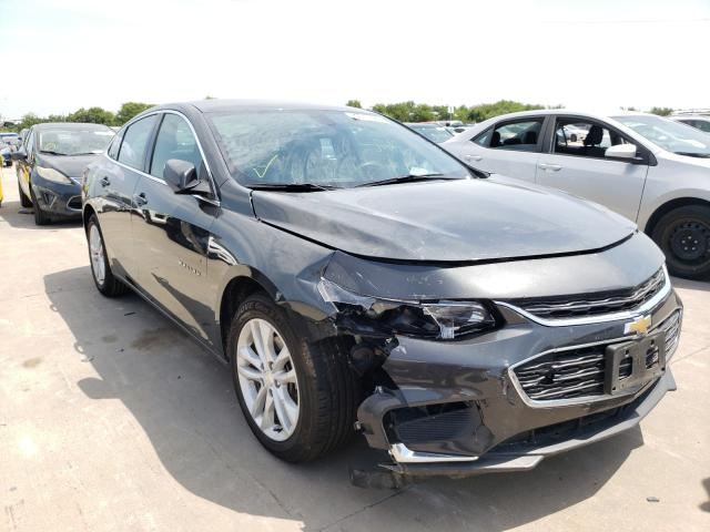 Salvage cars for sale from Copart Grand Prairie, TX: 2018 Chevrolet Malibu LT