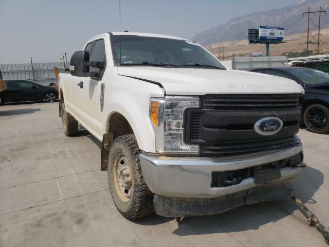 Salvage cars for sale from Copart Farr West, UT: 2017 Ford F250 Super