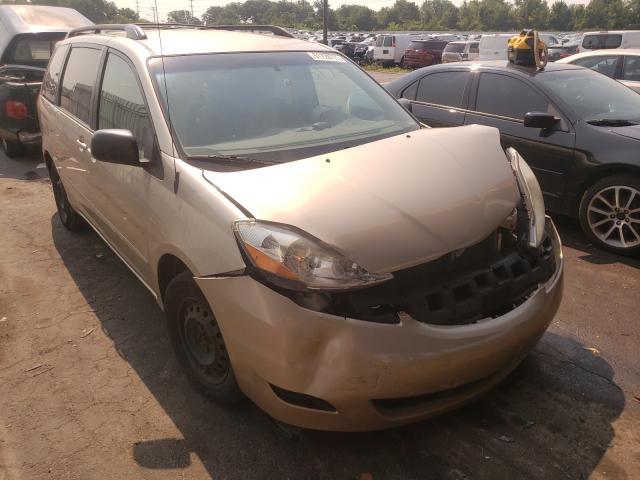 Vehiculos salvage en venta de Copart Fort Wayne, IN: 2010 Toyota Sienna CE