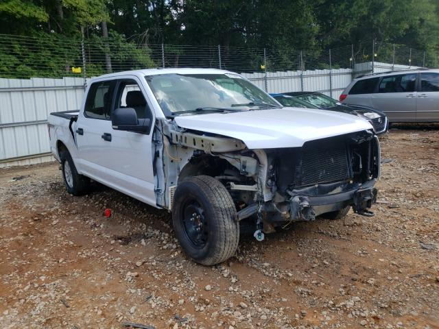 Salvage cars for sale from Copart Austell, GA: 2017 Ford F150 Super