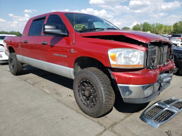 Dodge RAM 3500 salvage cars for sale: 2006 Dodge RAM 3500