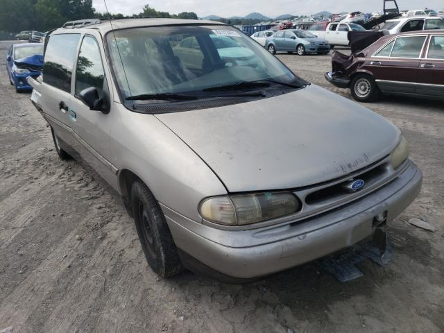 Salvage cars for sale from Copart Madisonville, TN: 1995 Ford Windstar W