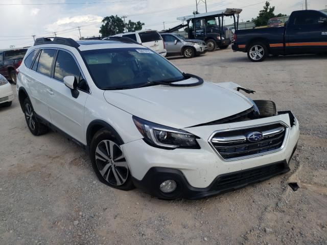 Salvage cars for sale from Copart Oklahoma City, OK: 2018 Subaru Outback 3