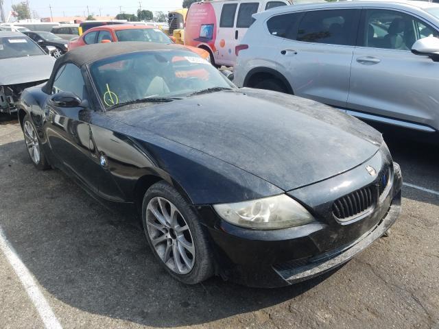 BMW Z4 salvage cars for sale: 2007 BMW Z4
