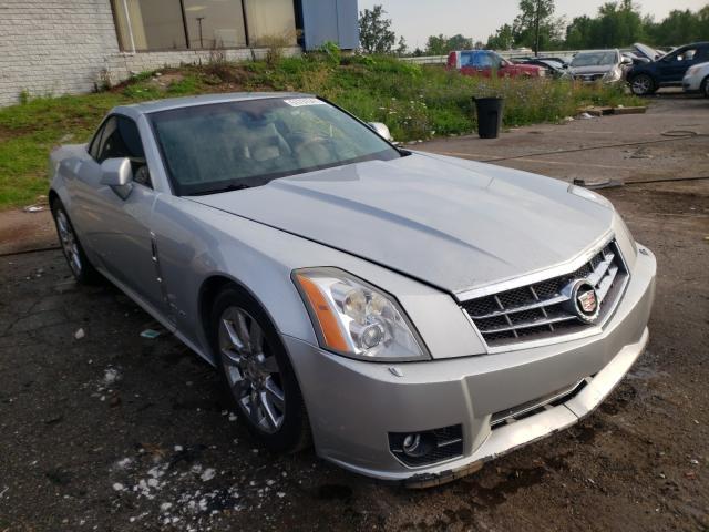 Cadillac XLR salvage cars for sale: 2009 Cadillac XLR