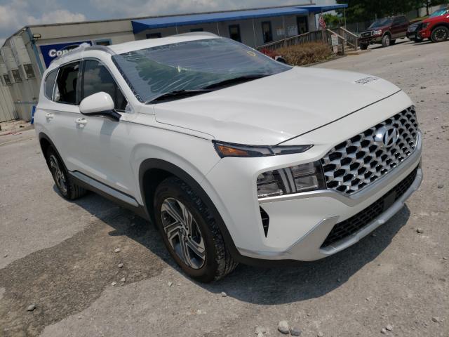 Salvage cars for sale at Prairie Grove, AR auction: 2021 Hyundai Santa FE S