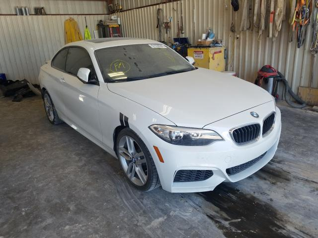 Salvage cars for sale from Copart Abilene, TX: 2016 BMW 228 I Sulev