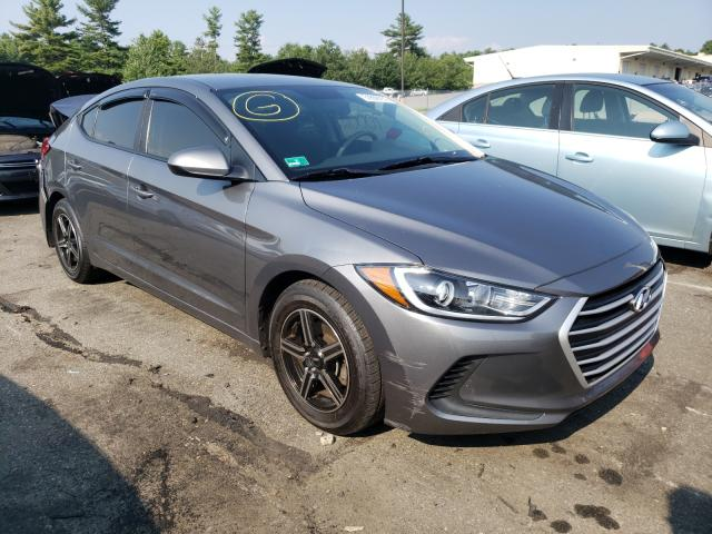 Salvage cars for sale from Copart Exeter, RI: 2018 Hyundai Elantra SE
