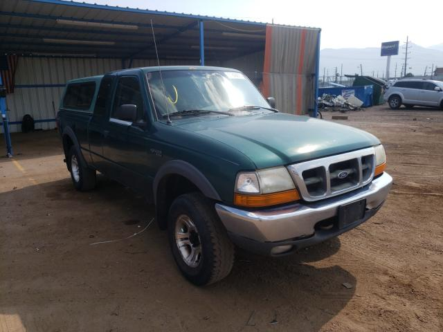 Salvage cars for sale from Copart Colorado Springs, CO: 2000 Ford Ranger SUP
