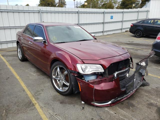 Salvage cars for sale from Copart Vallejo, CA: 2016 Chrysler 300C