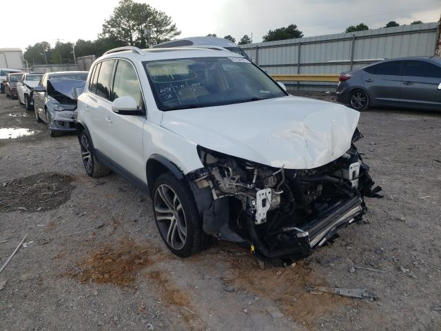 Salvage cars for sale from Copart Florence, MS: 2017 Volkswagen Tiguan SEL