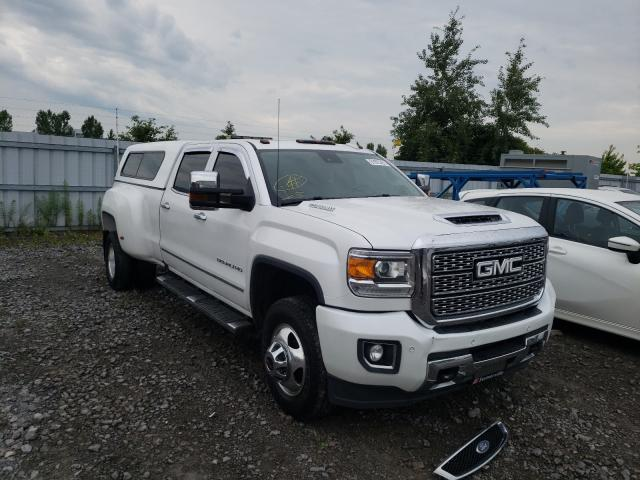 Salvage cars for sale from Copart Bowmanville, ON: 2019 GMC Sierra K35