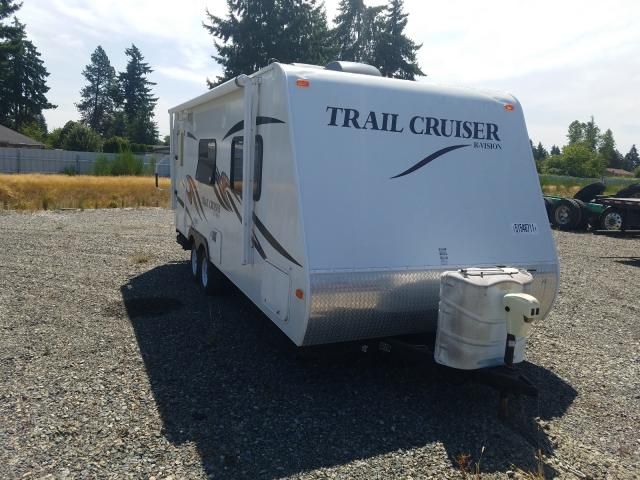 Trail King salvage cars for sale: 2011 Trail King Travel Trailer