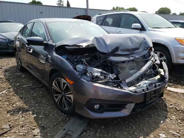 Vehiculos salvage en venta de Copart Cudahy, WI: 2016 Honda Civic EXL