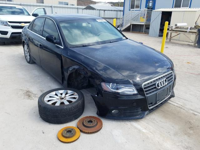 Salvage cars for sale from Copart Kapolei, HI: 2010 Audi A4 Premium