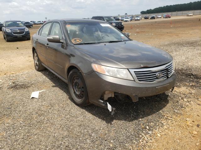 Vehiculos salvage en venta de Copart Longview, TX: 2009 KIA Optima LX