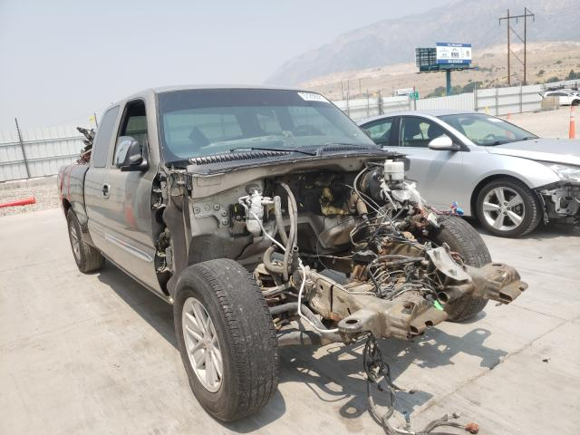Vehiculos salvage en venta de Copart Farr West, UT: 2002 GMC New Sierra