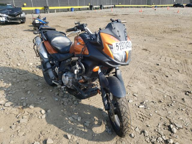 Salvage cars for sale from Copart Waldorf, MD: 2012 Suzuki DL650 A