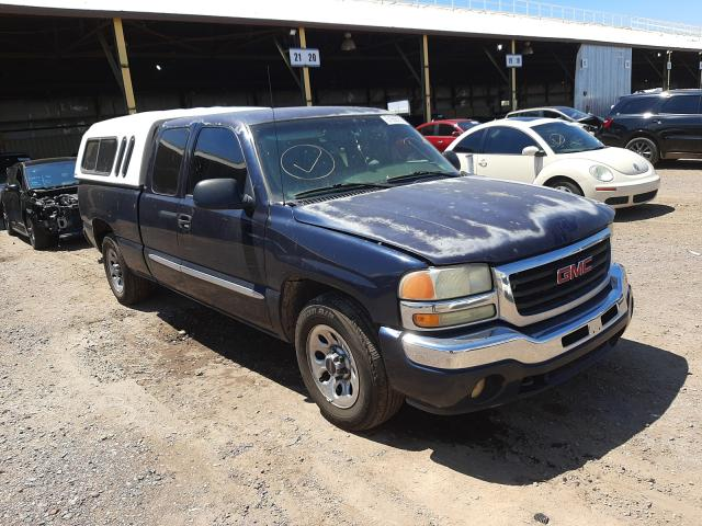 Salvage cars for sale from Copart Phoenix, AZ: 2005 GMC New Sierra