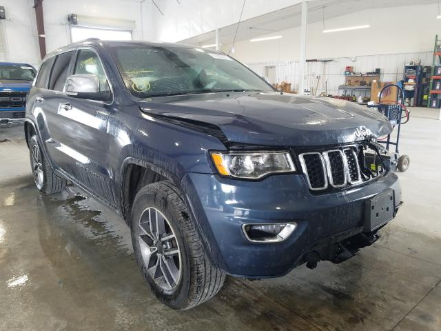 Salvage cars for sale from Copart Avon, MN: 2020 Jeep Grand Cherokee