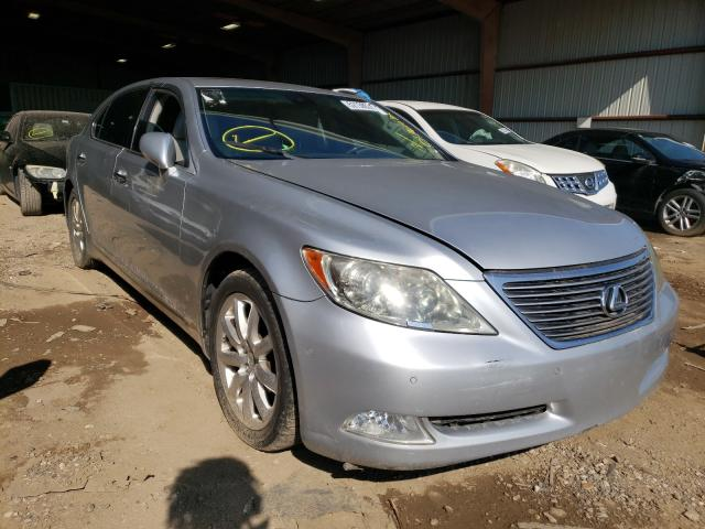Salvage cars for sale from Copart Houston, TX: 2007 Lexus LS 460L