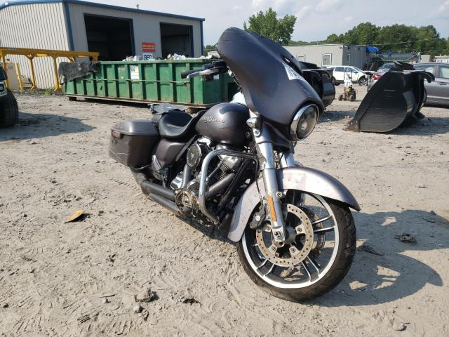 Salvage cars for sale from Copart Duryea, PA: 2017 Harley-Davidson Flhxs Street